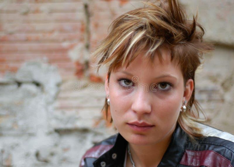 Download Ragazza punk fotografia stock. Immagine di bello, femmine - 210928