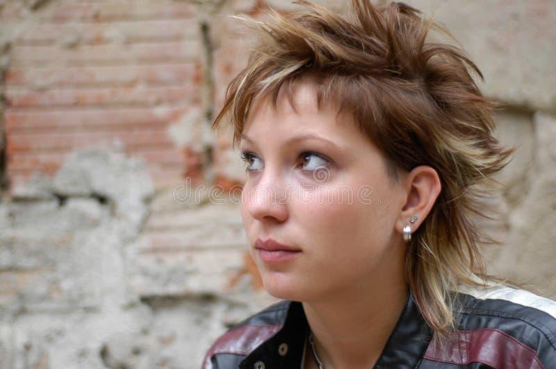 Download Ragazza punk fotografia stock. Immagine di people, vecchio - 211374