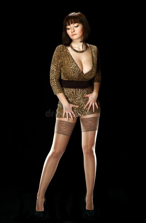Ragazza sexy immagine stock