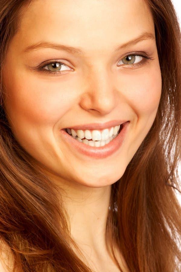 Ragazza sorridente. fotografia stock