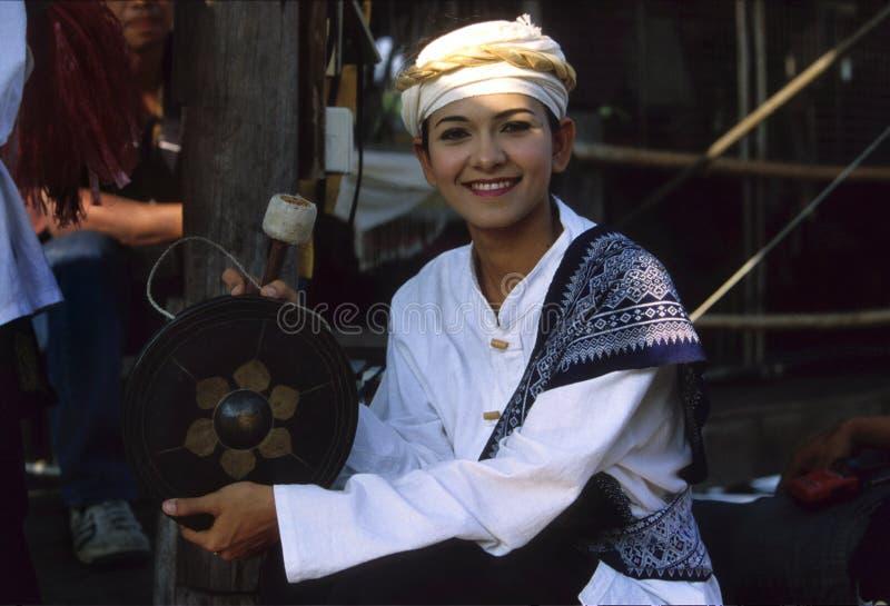 Ragazza tailandese fotografia stock libera da diritti