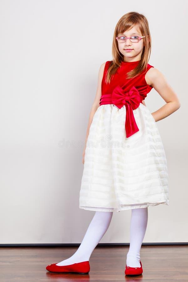 Ragazza in vestito da principessa di bellezza immagini stock