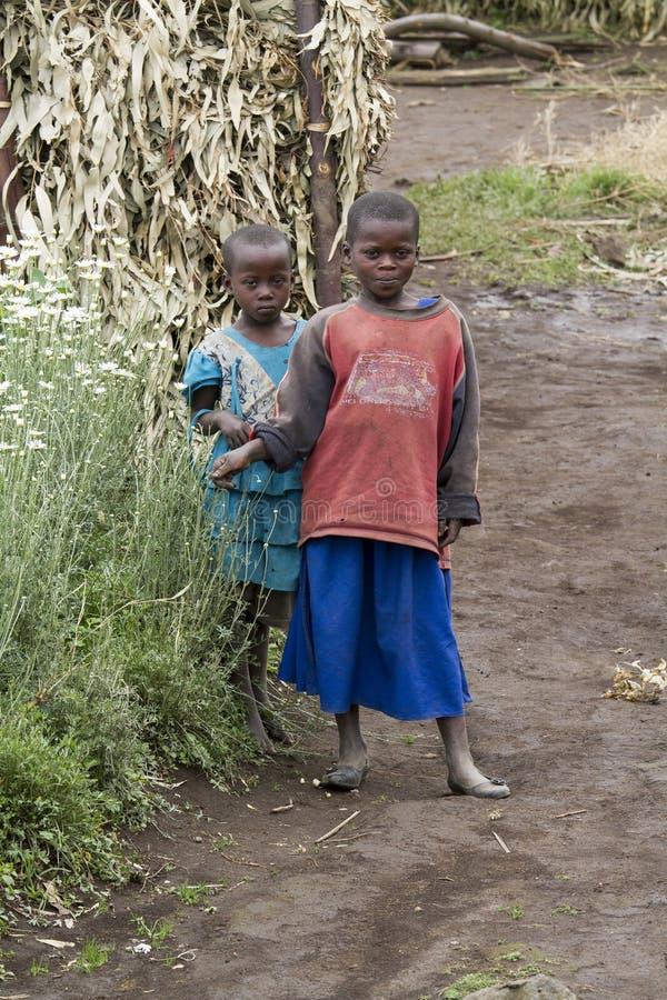 Ragazze africane fotografia stock libera da diritti