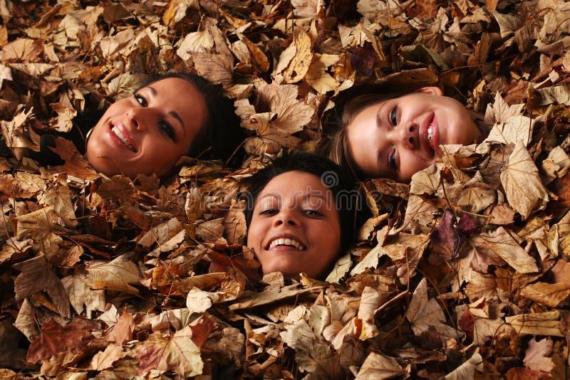 Ragazze di autunno immagini stock