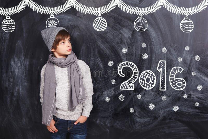 Ragazzino nuovo 2016 immagine stock libera da diritti