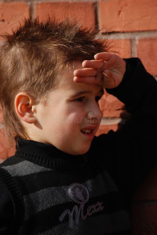 Download Ragazzo fotografia stock. Immagine di famiglia, staring - 7314040