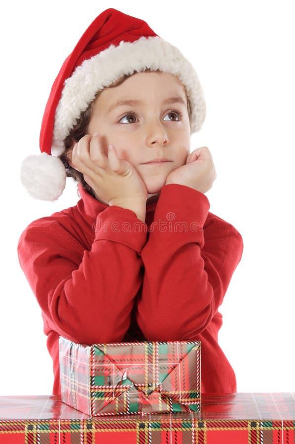 Download Ragazzo Adorabile Nel Natale Immagine Stock - Immagine di isolato, persona: 3882373