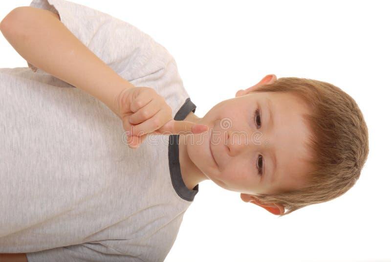 Ragazzo Band-aid 1 fotografia stock libera da diritti