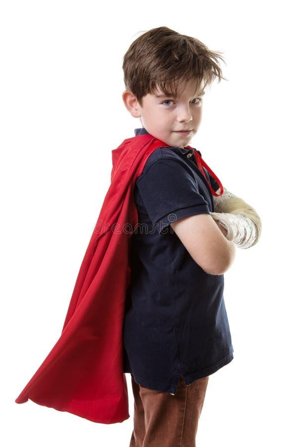 Ragazzo dell'eroe eccellente fotografia stock