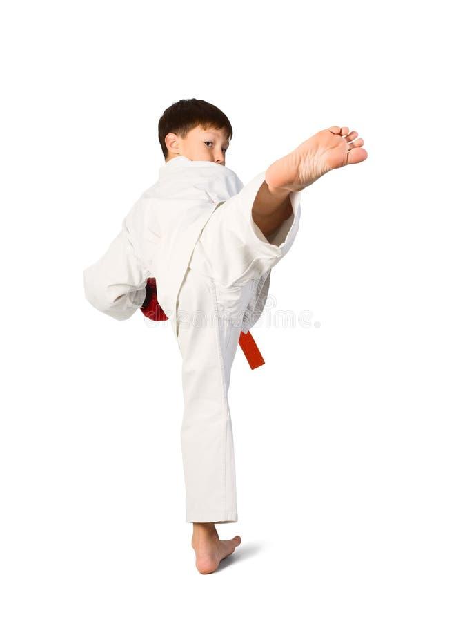 Ragazzo di Aikido fotografia stock