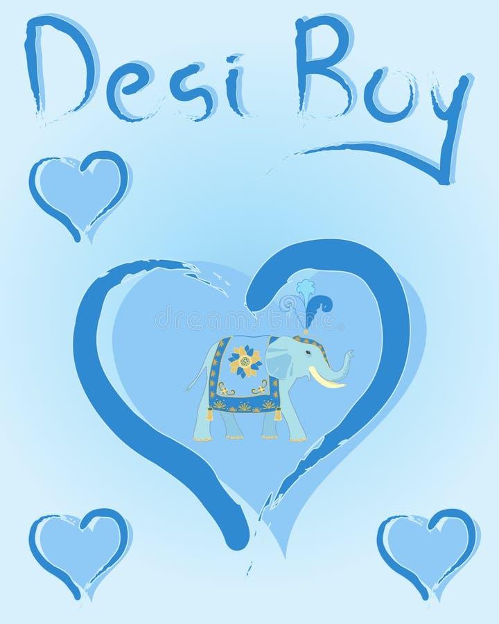 Ragazzo di Desi royalty illustrazione gratis