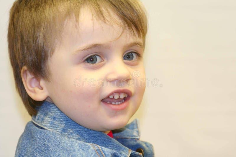 Ragazzo infantile fotografie stock libere da diritti