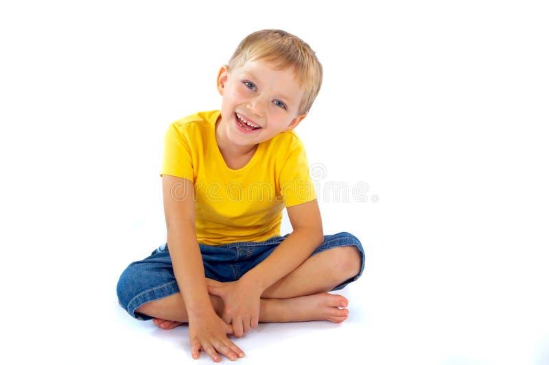 Ragazzo sorridente immagine stock