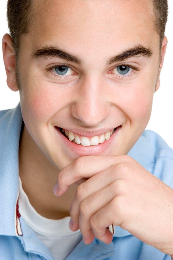 Ragazzo sorridente felice fotografia stock libera da diritti