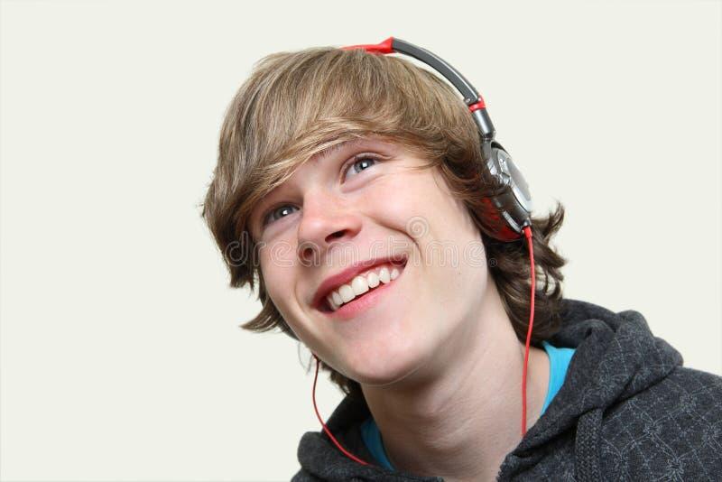 Ragazzo teenager sorridente immagini stock