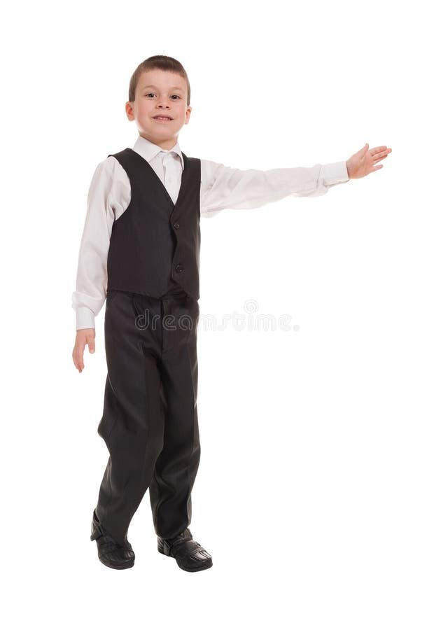 Download Ragazzo In Un Vestito Su Bianco Fotografia Stock - Immagine di commercio, costume: 30830998