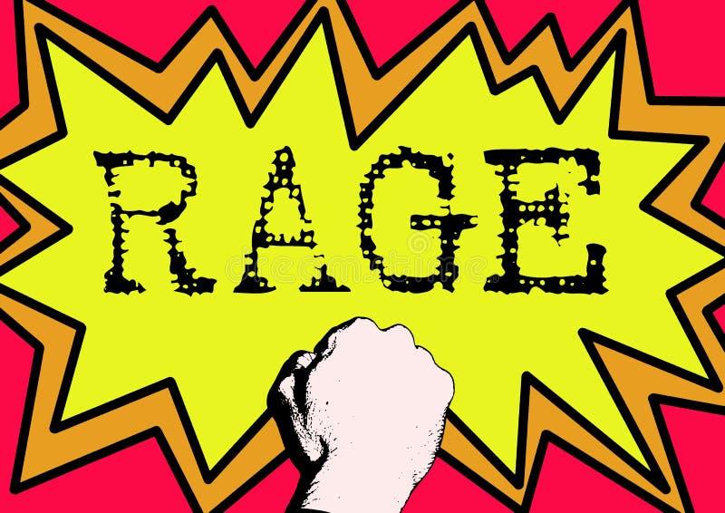 Rage Stock Image