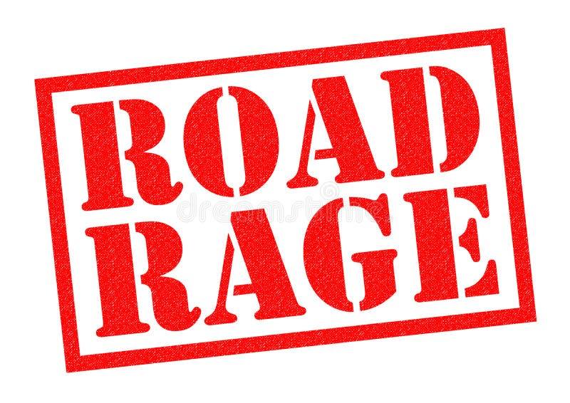 Rage de route illustration libre de droits