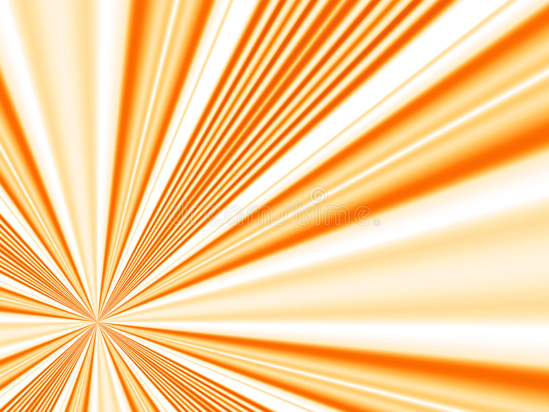 Raggi arancioni royalty illustrazione gratis