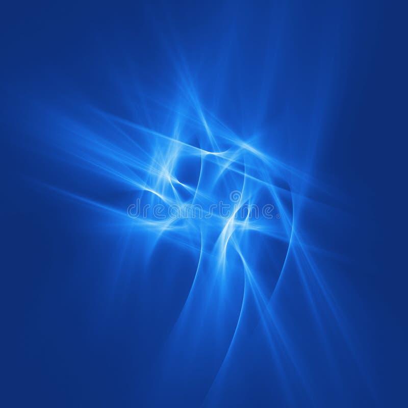 Raggi blu di caos immagini stock libere da diritti