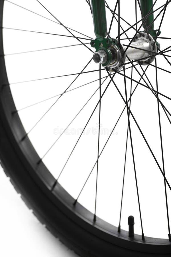 Raggi della bicicletta fotografia stock
