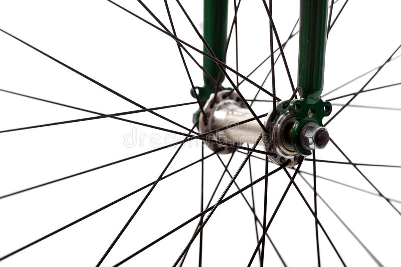 Raggi della bicicletta immagini stock libere da diritti