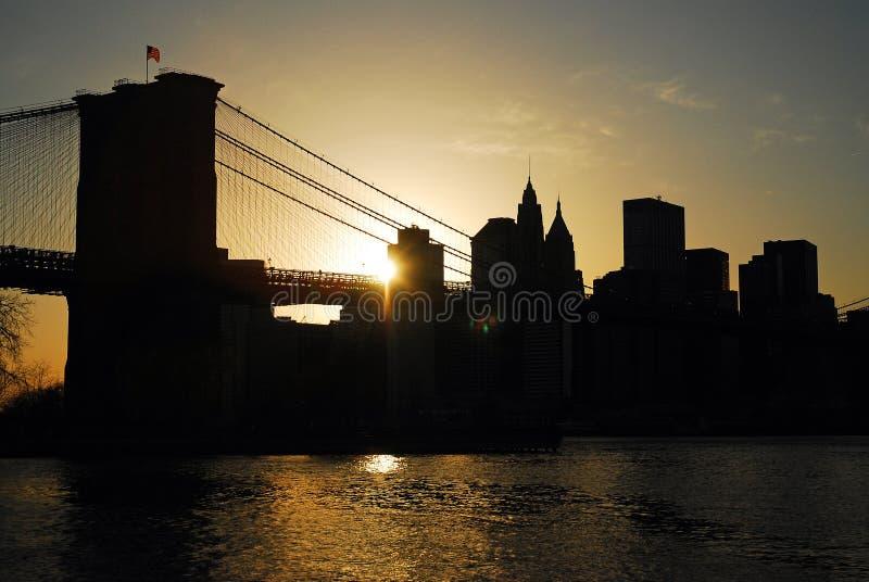 Raggi di New York di luce immagini stock libere da diritti