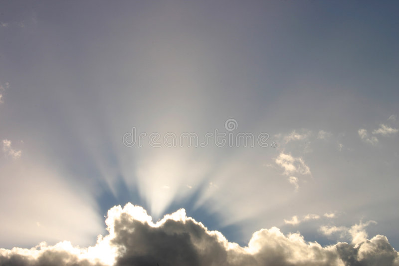 Raggi Di Sole Fotografia Stock