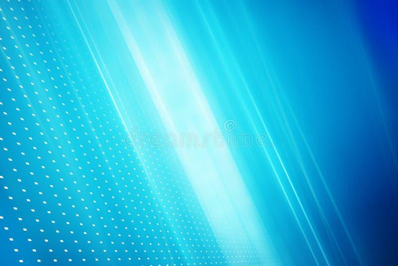 Raggi luminosi diagonali del fondo astratto grafico di tecnologia sopra illustrazione di stock
