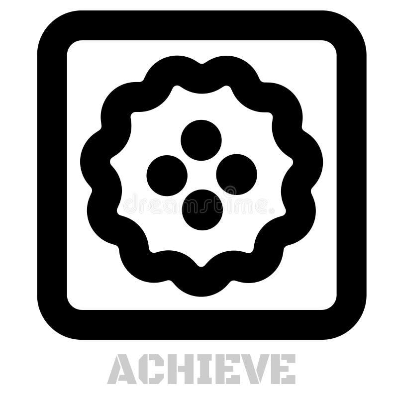 Raggiunga l'icona grafica concettuale illustrazione vettoriale