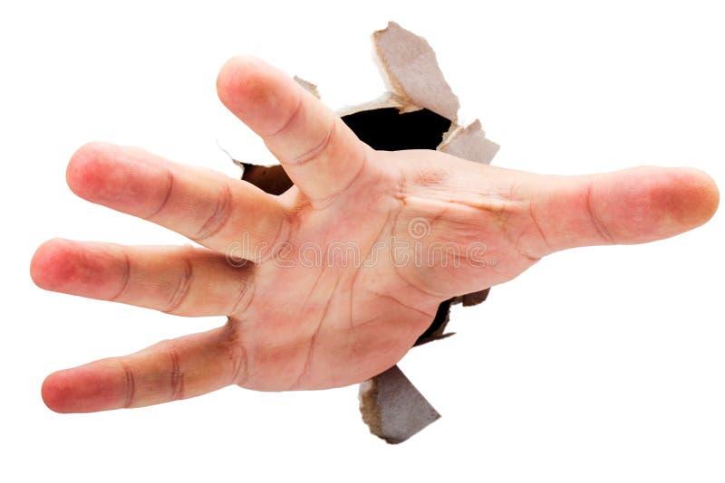 Raggiungimento della mano immagine stock libera da diritti