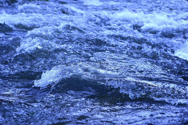 Raging Water Stock Images