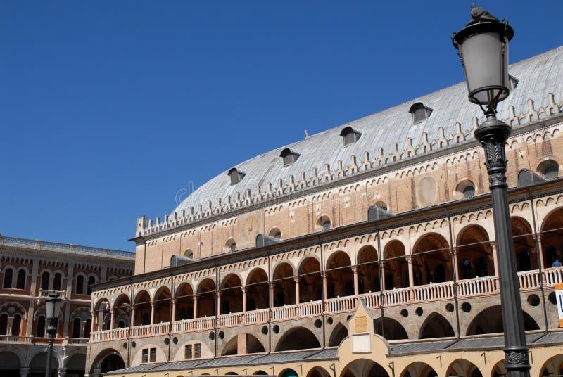 Ragione de della de Palazzo dans le centro un nel Vénétie (Italie) de trova du che SI de Padoue photos stock
