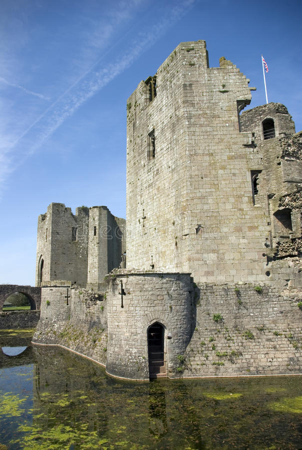 Download Raglan Castle stock photo. Image of history, conflicts - 14001588