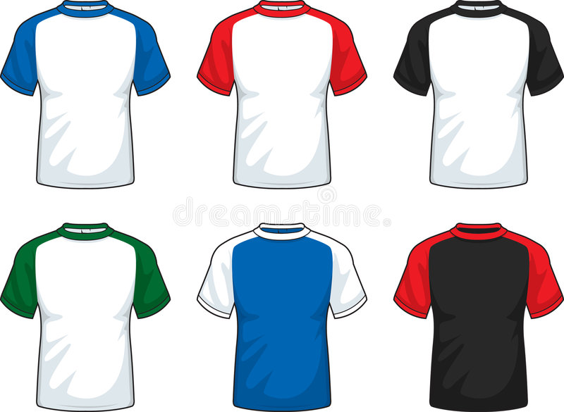 Download Raglan T-Shirt Stock Photo - Image: 6737790
