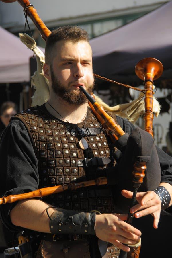 Ragnarok - irmãos de Viking - os 28-30 de setembro de 2018 - ` Adda de Casirate d - BG - Itália fotos de stock