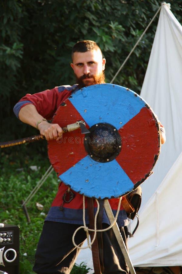 Ragnarok - les frères de Viking - 28-30 septembre 2018 - ` Adda de Casirate d - la BG - Italie image libre de droits
