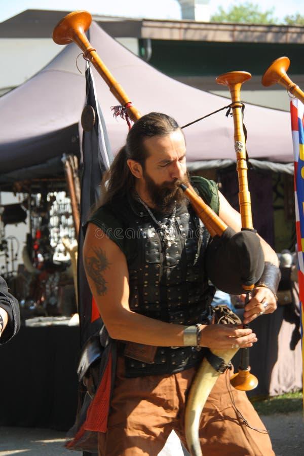 Ragnarok - los hermanos de Viking - 28-30 de septiembre de 2018 - ` Adda de Casirate d - BG - Italia foto de archivo