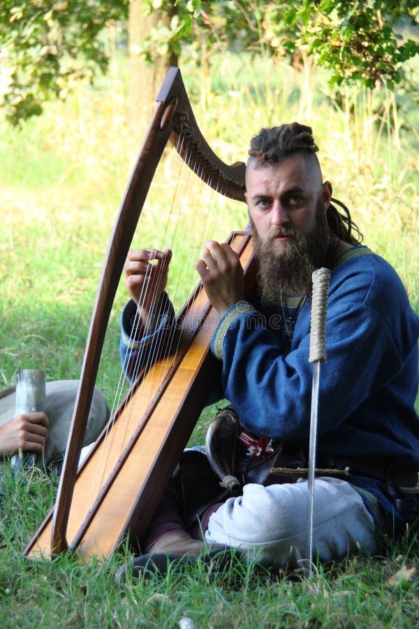 Ragnarok - los hermanos de Viking - 28-30 de septiembre de 2018 - ` Adda de Casirate d - BG - Italia fotos de archivo