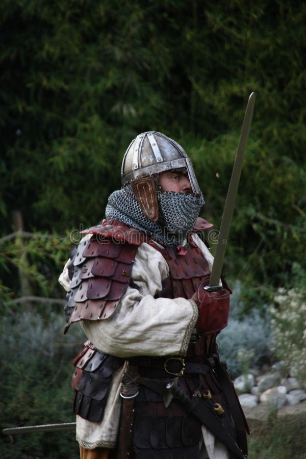 Ragnarok - the Viking brothers - 28-30 September 2018 - Casirate d`Adda - BG - Italy. The Ragnarok organized by the Viking brothers took place on 28th, 29th and stock photos