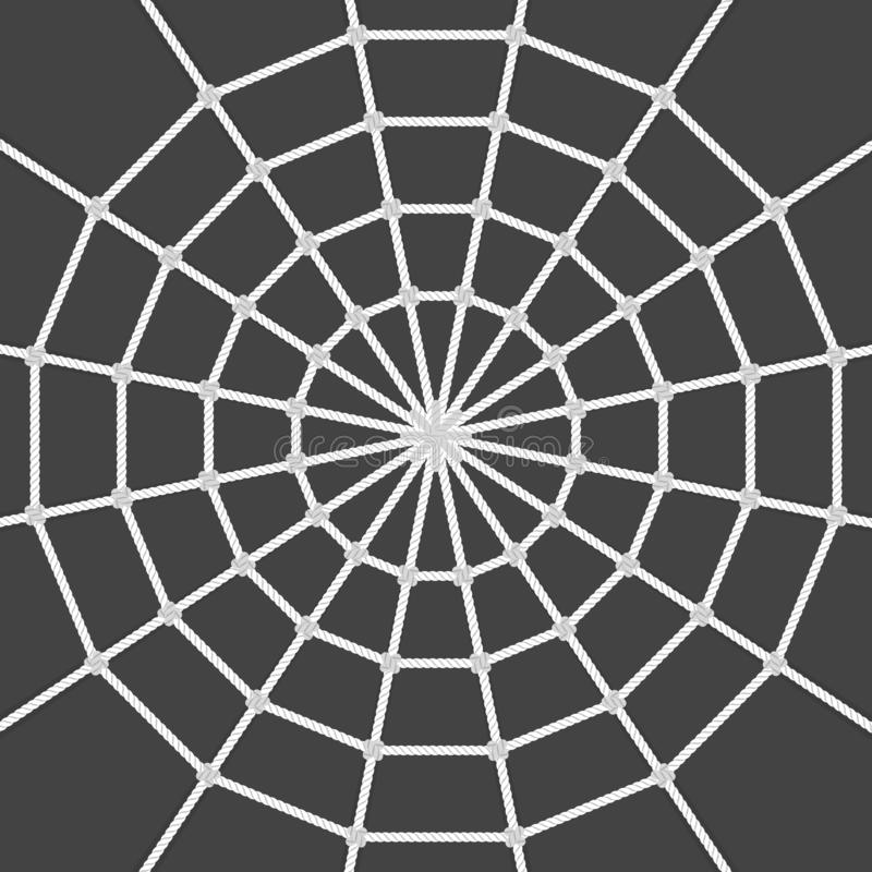 Ragnatela di vettore illustrazione vettoriale