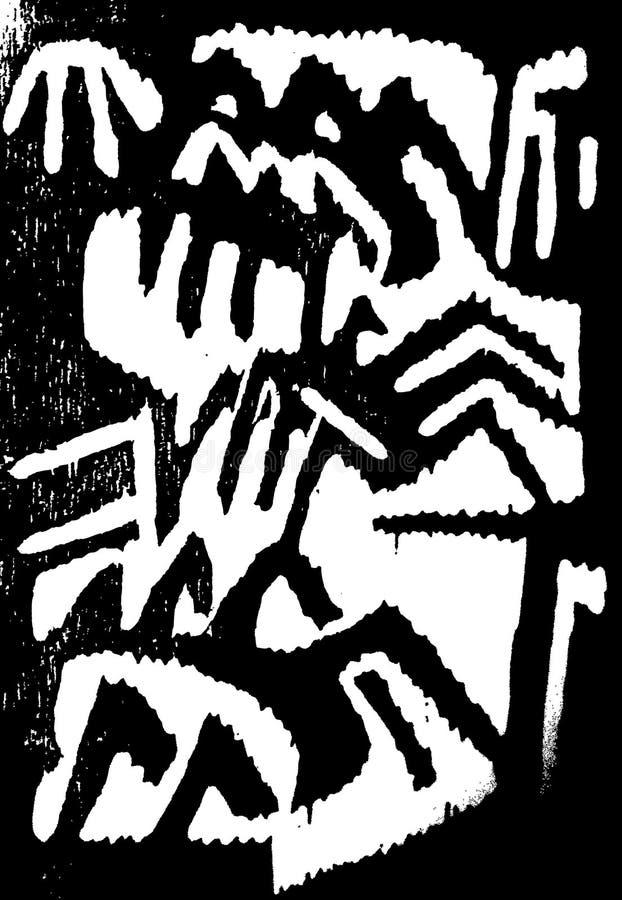 Ragni e beatles illustrazione di stock