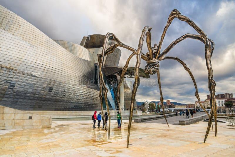 Ragno di Bilbao fotografia stock