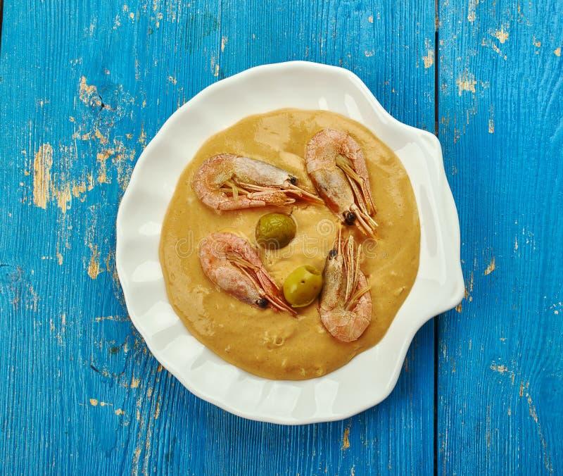 Ragoût brésilien de crevette images stock