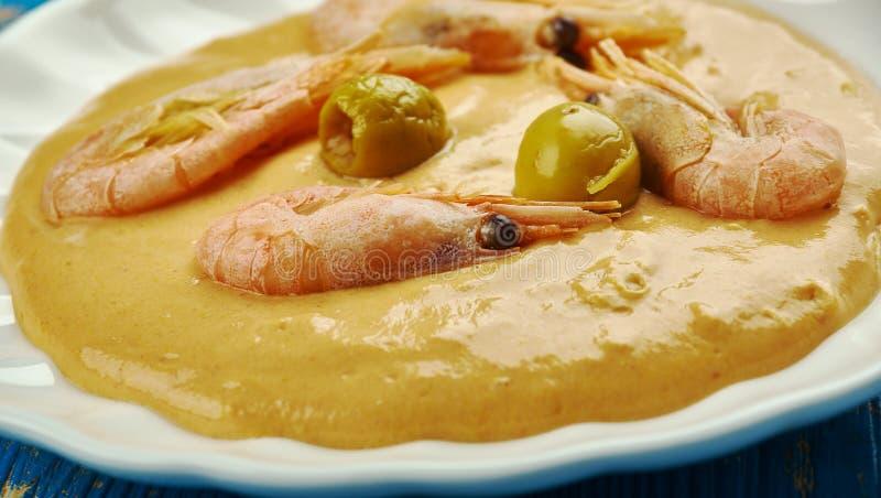 Ragoût brésilien de crevette photos stock