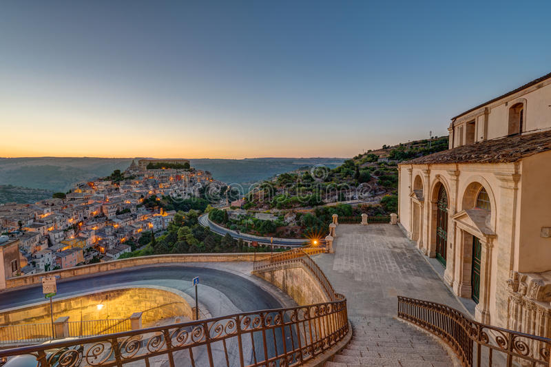 Download Ragusa Ibla In Sicily In The Early Morning Stock Photo - Image: 83701683