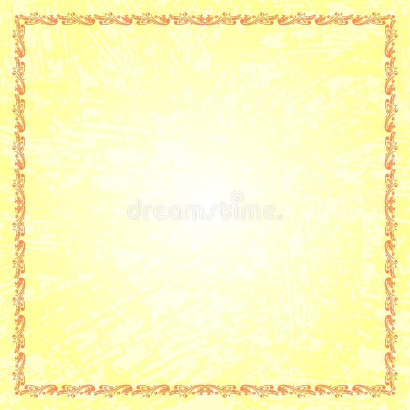 Rahmen-Batik-Strudel und Schmutz-Zusammenfassung lizenzfreie stockfotos