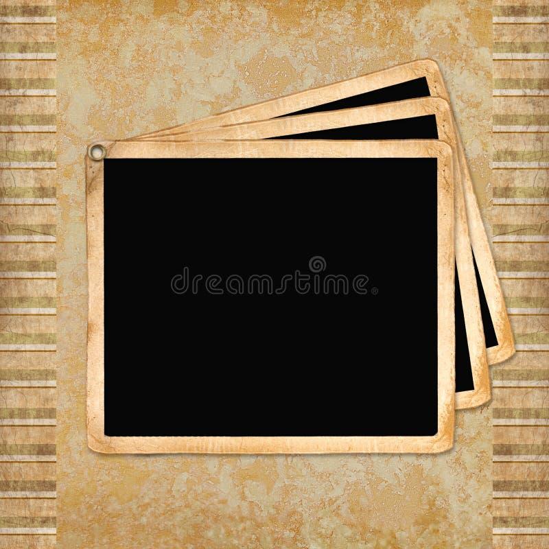 Download Rahmen für Einladungen stock abbildung. Illustration von grün - 12202560