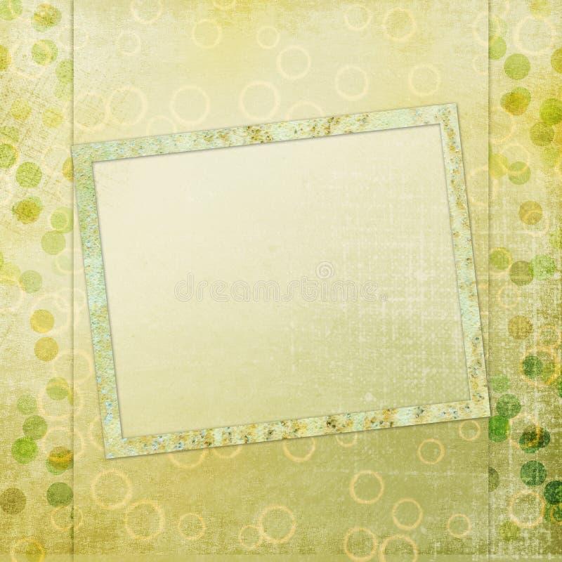 Rahmen für Foto oder Einladung vektor abbildung