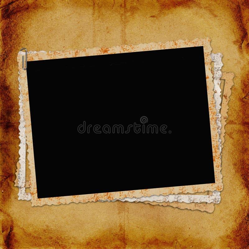 Rahmen für Foto oder Einladung stock abbildung